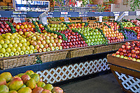 Farmers Market, Produce, Fruit Stand, Mid Wilshire, Los Angeles CA