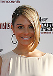 "HOLLYWOOD, CA. - August 10: Maria Menounos arrives at the Los Angeles premiere of ""Inglorious Basterds"" at the Grauman's Chinese Theatre on August 10, 2009 in Hollywood, California."