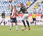Once Caldas venció como visitante 1-0 a Atlético Junior. Fecha 13 Liga Águila II-2016.