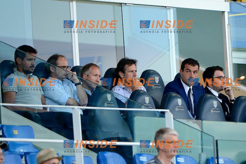 Vadim Vasiley vicepresidente Monaco, Andrea Butti<br /> Parma 28-07-2014 Stadio Tardini - Football Calcio Amichevole. Pre season training. Parma - Monaco Foto Giuseppe Celeste / Insidefoto