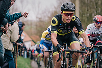 Niki Terpstra (NED/Direct Energie) up the Molenberg<br /> <br /> 74th Omloop Het Nieuwsblad 2019 <br /> Gent to Ninove (BEL): 200km<br /> <br /> ©kramon