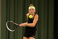 March 8, 2015, Netherlands, Rotterdam, TC Victoria, NOJK, Madelief Hageman (NED)<br /> Photo: Tennisimages/Henk Koster