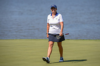 Cristie Kerr (USA) is all smiles after sinking her long birdie putt on 7 during round 2 of the 2018 KPMG Women's PGA Championship, Kemper Lakes Golf Club, at Kildeer, Illinois, USA. 6/29/2018.<br /> Picture: Golffile | Ken Murray<br /> <br /> All photo usage must carry mandatory copyright credit (&copy; Golffile | Ken Murray)