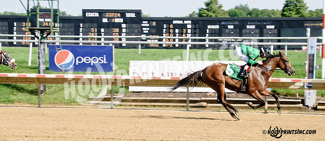 Secret Jackpot winning at Delaware Park on 8/13/14