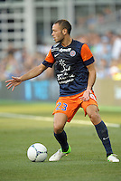 Jamel Saihi (23) midfield Montpellier in action..Sporting Kansas City were defeated 3-0 by Montpellier HSC in an international friendly at LIVESTRONG Sporting Park, Kansas City, KS..