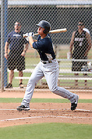 Marcus Littlewood #6 of the Seattle Mariners plays in a minor league spring training game against the San Diego Padres at the Padres complex on March 19, 2011 in Peoria, Arizona. .Photo by:  Bill Mitchell/Four Seam Images.
