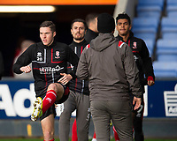Lincoln City's Conor Coventry during the pre-match warm-up<br /> <br /> Photographer Andrew Vaughan/CameraSport<br /> <br /> The EFL Sky Bet League One - Shrewsbury Town v Lincoln City - Saturday 11th January 2020 - New Meadow - Shrewsbury<br /> <br /> World Copyright © 2020 CameraSport. All rights reserved. 43 Linden Ave. Countesthorpe. Leicester. England. LE8 5PG - Tel: +44 (0) 116 277 4147 - admin@camerasport.com - www.camerasport.com