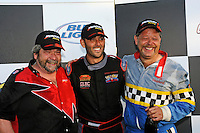 3-4 May 2008, Pickwick,TN USA.L to R: Lynn Simberger-2nd, Shaun Torrente-winner and Jeff Shepard-3rd..©2008 F.Peirce Williams
