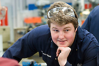Apprentice engineering student at Kingston College..