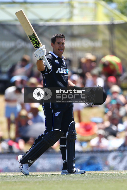 NELSON, NEW ZEALAND - JANUARY 8:  Black Caps v Sri Lanka  3rd ODI Saxton Oval on January 8 2019 in Nelson, New Zealand. (Photo by:  Shuttersport Limited)