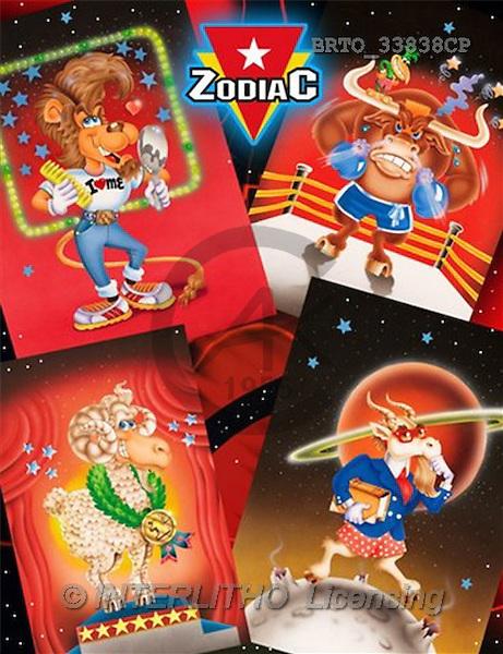 Alfredo, MODERN, zodiacs, paintings(BRTO33838CP,#N#) Sternzeichen, zodíaco, illustrations, pinturas