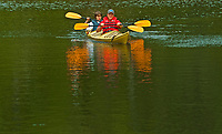 Kayaking on Rushing River<br />