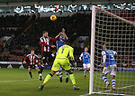 Kieron Freeman of Sheffield Utd gets into the attack during the English League One match at Bramall Lane Stadium, Sheffield. Picture date: November 29th, 2016. Pic Simon Bellis/Sportimage
