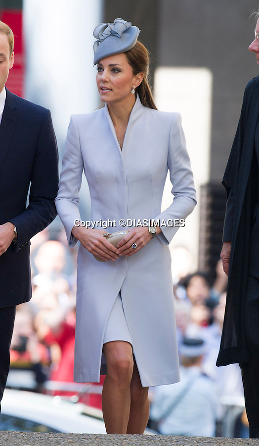 20.04.2014;Sydney: KATE AND PRINCE WILLIAM<br /> attend Easter Service at St. Andrew's Cathedral in Sydney, Australia<br /> The Duchess wore an Alexander McQueen Coat topped off with a hat by Jane Taylor.<br /> Mandatory Photo Credit: &copy;Francis Dias/DIASIMAGES<br /> <br /> **ALL FEES PAYABLE TO: &quot;NEWSPIX INTERNATIONAL&quot;**<br /> <br /> PHOTO CREDIT MANDATORY!!: NEWSPIX INTERNATIONAL(Failure to credit will incur a surcharge of 100% of reproduction fees)<br /> <br /> IMMEDIATE CONFIRMATION OF USAGE REQUIRED:<br /> Newspix International, 31 Chinnery Hill, Bishop's Stortford, ENGLAND CM23 3PS<br /> Tel:+441279 324672  ; Fax: +441279656877<br /> Mobile:  0777568 1153<br /> e-mail: info@newspixinternational.co.uk