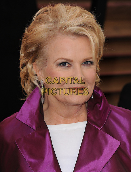 WEST HOLLYWOOD, CA - MARCH 2: Candice Bergen arrives at the 2014 Vanity Fair Oscar Party in West Hollywood, California on March 2, 2014.<br /> CAP/MPI<br /> &copy;MPI213/MediaPunch/Capital Pictures
