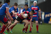Counties Manukau Junior Under 13 Open Final rugby game between Ardmore Marist Red and Papakura, played at Patumahoe on Saturday September 3rd 2016. Ardmore Marist won the game 38 - 21.<br /> Photo by Richard Spranger