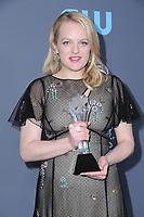 11 January 2018 - Santa Monica, California - Elisabeth Moss. 23rd Annual Critics' Choice Awards held at Barker Hangar. <br /> CAP/ADM/BT<br /> &copy;BT/ADM/Capital Pictures