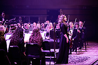 The Liberty University School of Music  hosts their annual homecoming concert on October 19, 2018. (Photo by Nathan Spencer)