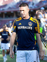 Stanford, California - Saturday June 30, 2012: Robbie Keane warming up before start of San Jose Earthquakes and Los Angeles Galaxy's match at Stanford Stadium, Stanford, Ca.San Jose Earthquakes defeated Los Angeles Galaxy,  4 to 3