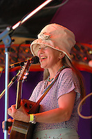 Canadian singer Mae Moore in concert.
