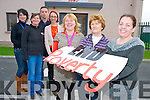 Pictured announcing details of the campaign to raise awareness of the eradication of poverty through family resource centres in Cork and Kerry, in Ballyspillane Family Resource centre, Killarney on Monday were Marian McCabe, Veronica Murphy,  Liz Fenton, Michelle Moore, Jackie Landers, Seamus Falvey and Nancy Holmes Smith