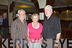 Devon Inn Ceili, Sunday 06-10-2013. Pictured from left to right : Mike Murphy of Carrigkerry, Nora Murphy of Carrigkerry and Jim Horgan of Listowel.