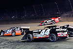 Sep 12, 2010; 12:26:48 AM; Rossburg, OH., USA; The 40th annual running of the World 100 Dirt Late Models racing for the Globe trophy at the Eldora Speedway.  Mandatory Credit: (thesportswire.net)