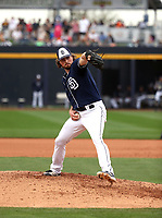 Carter Capps - San Diego Padres 2018 spring training (Bill Mitchell)