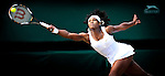 5TH JULY 2008, WIMBLEDON TENNIS CHAMPIONSHIPS, SISTERS VENUS AND SERENA WILLIAMS MEET AGAIN IN THE FINAL OF WIMBLEDON ON CENTRE COURT, VENUS WINS IN TWO SETS, ROB CASEY PHOTOGRAPHY.