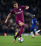 Kyle Walker of Manchester City during the premier league match at the Stamford Bridge stadium, London. Picture date 30th September 2017. Picture credit should read: Robin Parker/Sportimage