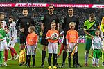 10.02.2019, Weser Stadion, Bremen, GER, 1.FBL, Werder Bremen vs FC Augsburg, <br /> <br /> DFL REGULATIONS PROHIBIT ANY USE OF PHOTOGRAPHS AS IMAGE SEQUENCES AND/OR QUASI-VIDEO.<br /> <br />  im Bild<br /> <br /> Manuel Gräfe / Graefe ( Schiedsrichter / Referee) zum 250. mal an der Pfeide<br /> <br /> Foto © nordphoto / Kokenge