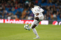 Real Madrid CF's Ferland Mendy seen in action during UEFA Champions League match, groups between Real Madrid and Galatasaray SK at Santiago Bernabeu Stadium in Madrid, Spain. November, Wednesday 06, 2019.(ALTERPHOTOS/Manu R.B.)<br /> Champions League 2019/2020  <br /> Real Madrid - Galatasaray<br /> Foto Alterphotos / Insidefoto <br /> ITALY ONLY