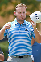 Tyrell Hatton (ENG) waits to tee off on 16 during 1st round of the 100th PGA Championship at Bellerive Country Club, St. Louis, Missouri. 8/9/2018.<br /> Picture: Golffile | Ken Murray<br /> <br /> All photo usage must carry mandatory copyright credit (© Golffile | Ken Murray)