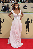 LOS ANGELES, CA - JANUARY 21: Ryan Michelle Bathe at The 24th Annual Screen Actors Guild Awards held at The Shrine Auditorium in Los Angeles, California on January 21, 2018. Credit: FSRetna/MediaPunch