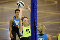 16.09.2016 Silver Ferns Bailey Mes in action during traning ahead of the last Taini Jamison netball match between the Silver Ferns and Jamaica to be played in Rotorua. Mandatory Photo Credit ©Michael Bradley.