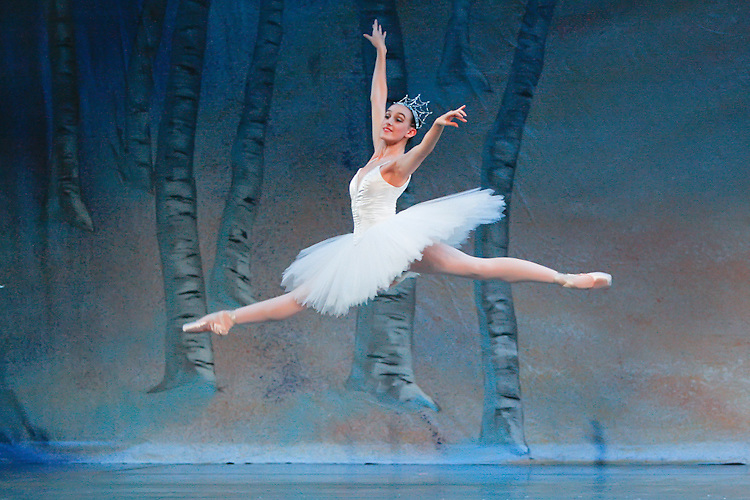 Krista Baker during the performance of Nevada Ballet Theatre's production of the 'Nutcracker' at the Paris Hotel/Casino in Las Vegas, NV.