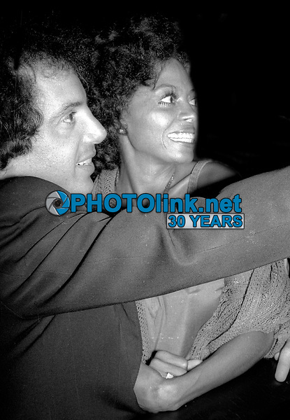 Steve Rubell Diana Ross at Studfio 54 1978<br /> Photo By Adam Scull/PHOTOlink.net