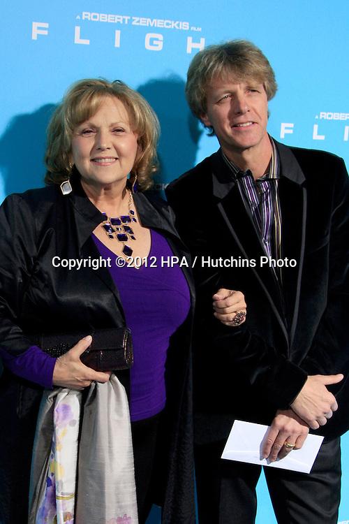 "LOS ANGELES - OCT 23:  Brenda Vaccaro, Guy Hector arrives at the ""Flight"" Premiere at ArcLight Cinemas on October 23, 2012 in Los Angeles, CA"