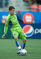 Nathan Sturgis of the Seattle Sounders FC during MLS action at BMO Field on April 4, 2009. Seattle won 2-0.