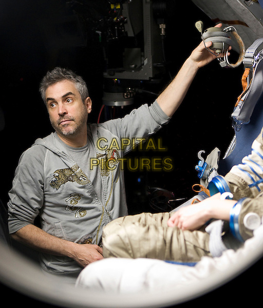 Alfonso Cuaron (Director)<br /> on the set of Gravity (2013) <br /> *Filmstill - Editorial Use Only*<br /> CAP/NFS<br /> Image supplied by Capital Pictures