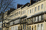 Regency architecture in Clifton Terrace, Bristol
