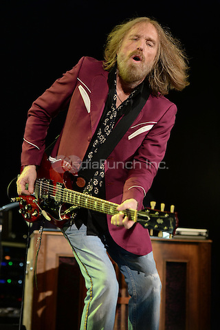 WEST PALM BEACH - SEPTEMBER 20: Tom Petty performs at the Cruzan Amphitheatre on September 20, 2014 in West Palm Beach, Florida.Credit: mpi04/MediaPunch