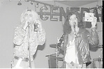 Taime Downe & Riki Rachtman performing live at The Central in Hollywood, Ca 1987.
