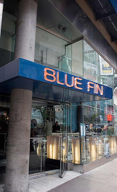 Blue Fin Restaurant, Seafood Restaurant,Times Square, New York, New York