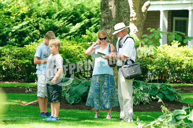 Dr. John Brown's family at Delaware Park on 7/11/15