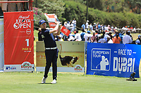 Justin harding (RSA) in action during the final round of the Magical Kenya Open presented by ABSA played at Karen Country Club, Nairobi, Kenya. 17/03/2019<br /> Picture: Golffile | Phil Inglis<br /> <br /> <br /> All photo usage must carry mandatory copyright credit (&copy; Golffile | Phil Inglis)