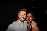 Paulie Calafiore and Monica Bailey (Big Brother contestants at Big Brother 19 premiere airing live at Slate, New York City, New York on Jume 28, 2017 (photo by Sue Coflin/Max Photos - suemax13@optonline.net