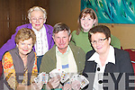 BRIDGE: Keeping their cards close to their chest at the Bridge Congress in the Manor West Hotel, Tralee on Friday night 28th December were l-r: Carmel Pierse (Listowel), Peggy Mullins (Tralee), Frank Pierse (Listowel), Sarah Hardiman (Tralee) and Marie O'Gorman (Listowel).   Copyright Kerry's Eye 2008