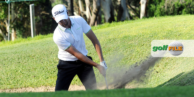 EAST LONDON, EASTERN CAPE, SOUTH AFRICA FEBRUARY 17 - Gregory Bourdy of France during the fourth and final day of the Africa Open Open Golf Challenge at the East London  Golf course. ..Photo: Catherine Kotze/SASPA