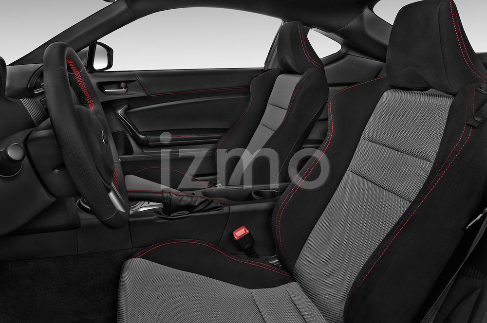 Front seat view of a 2015 Subaru BRZ Limited AT 2 Door Coupe Front Seat car photos